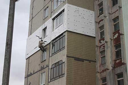 Утеплення фасаду Львів